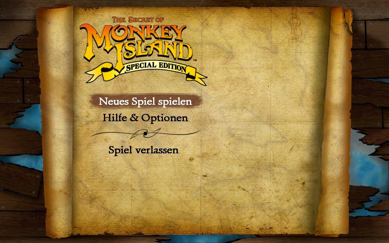 Secret Of Monkey Island Deutsch