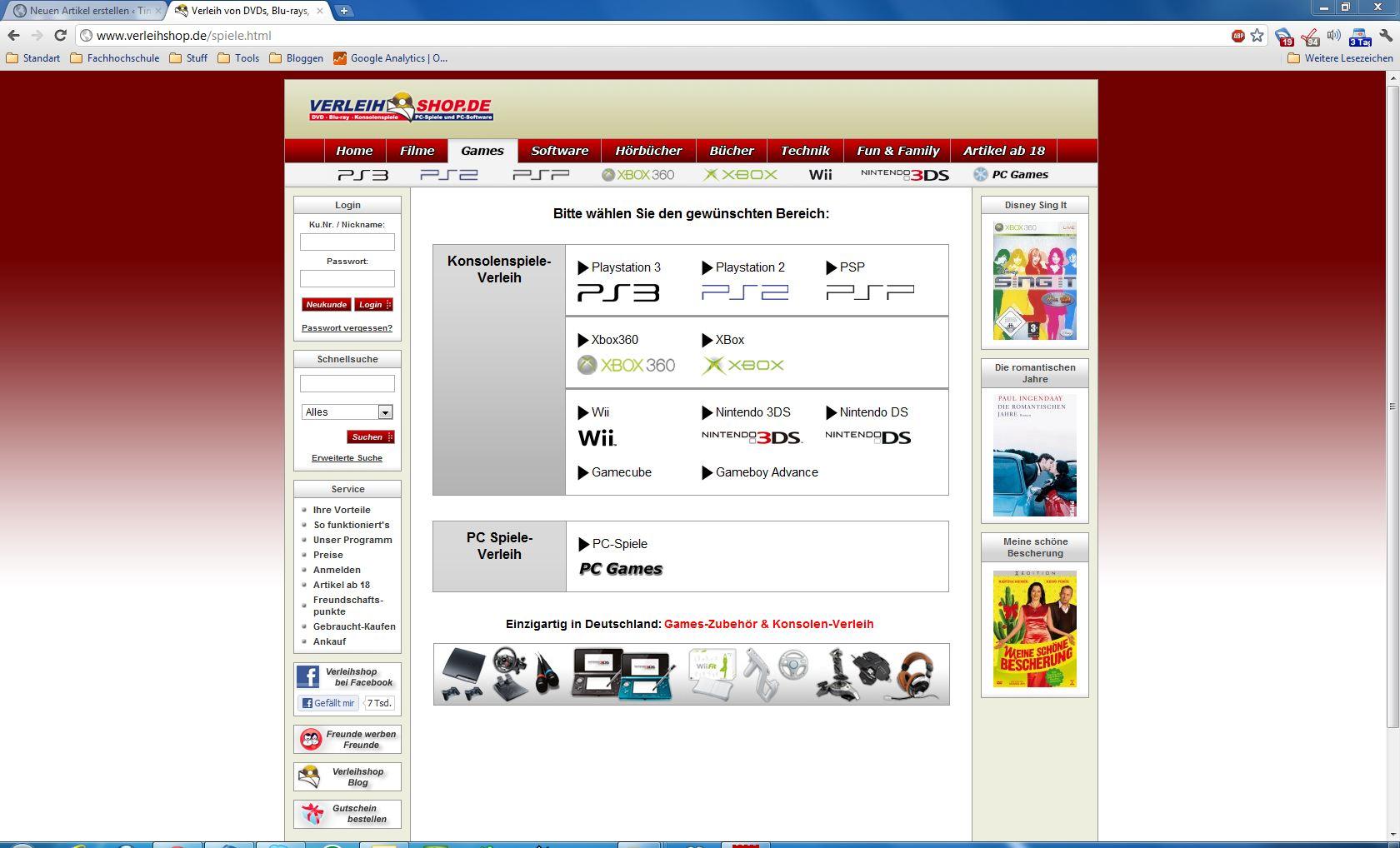 Online Videothek Verleihshopde Im Test