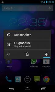 android ausschalten