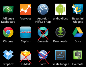 android system apps entfernen
